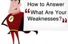 interview weakness question