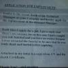 A Sample Job Application Letter
