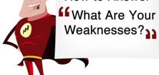 how to respond to interview questions about your weaknesses